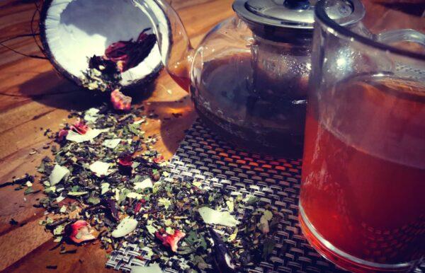 Détox coconut tea